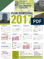 Calendario Semestral 2017