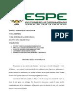ENSAYO DE LA DEMOCRACIA - MATRIZ Y ANALISIS DEL ART. 83 DE LA CONSTITUCIÓN DE LA REPUBLICA DEL ECUADOR