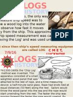 Ship Speed Log
