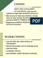 Kuliah 11 Water Coning