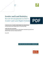 Gender and Land Statistics