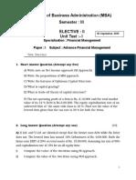 FM Paper I Elective I.docx