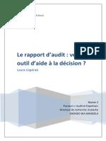 1.Rapport Et Décision