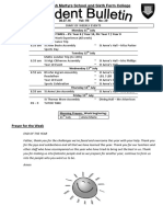 Student Bulletin