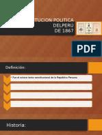 Constitucion Politica Del perú 1867