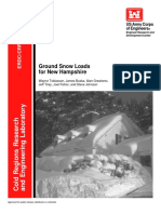 TR02-6, Ground Snow Loads for New Hampshire