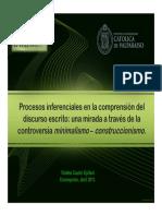 Minimalismo Construccionismo Concepción