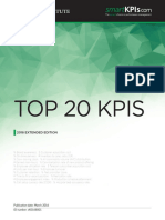 KPI - Top 20 KPIs Extended Edition 2016