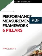 Performance Measurement Framework 6 Pillars Worldwide