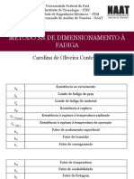 Método SN de Dimensionamento à Fadiga