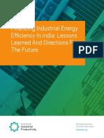 IIP India Financing Landscape