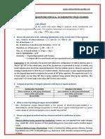 B.Sc. Inorganic Chemistry