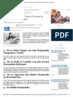 Cosas que No Debes Hacer Durante la Entrevista ¡Toma Nota! - Jobomas.pdf