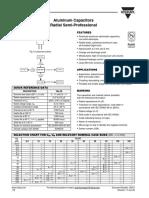 Aluminium Capacitors 036 RSP
