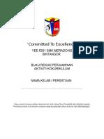 Cover Buku Rekod Perjumpaan & AJK