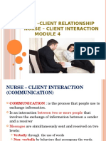 Nurse _client Relationship