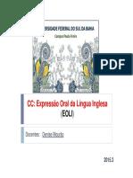 EOLI_aula 4 Regular Irregular verbs + revisão.pdf