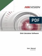 Disk Calculator User Manual