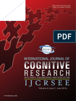 International Journal of Cognitive Research in Science, Engineering and Education (IJCRSEE) Volume 4 Issue 1