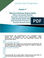 Instrucciones Del Programa