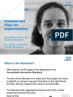 Accessible Information Standard (1)
