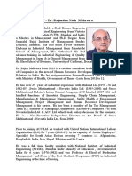 Dr Rajen Mehrotra - Profile-(2 Pages) -Latest Photo