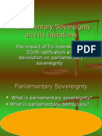Public Lawparliamentary Sovereigntylecture3