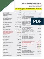 Some Critical Arabic Grammars