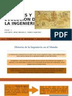SEMANA 03 Origenes y Evolucion