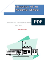 Construction of an International School