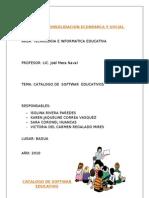 Catalogo de Softwar Educativo