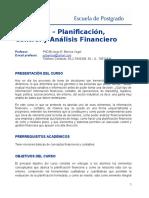 III.curso de Planificacion, Control y Analisis Financiero - 2012