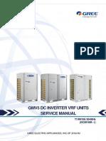 出口欧洲GMV5上出风直流变频多联室外机技术服务手册