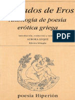 Luque Aurora - Los Dados de Eros - Antologia de La Poesia Erotica Griega