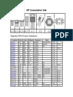 21978925 Catalog Tranzistori Rf