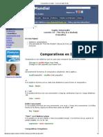 Comparativos en Inglés - Cursos de Inglés Gratis