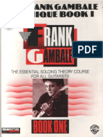 Frank Gambale - The Frank Gambale Technique Book I