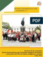 Revista del Parlamento Indígena de América