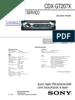 Sony Cdx-gt207x Ver1.2 Brazil