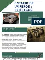 Inventario de Murcielagos