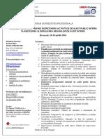 Normele Generale Privind Exercitarea Activităţii de Audit Public Intern