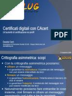 Certificati Digitali Con CAcert