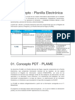 configuracion PLAME