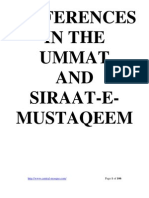 Differences in Ummat & Siraat e Mustaqeem by Sheikh Muhammad Yusuf Ludhyanvi (r.a)
