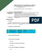 Diseño e Implementación de Un Software de Control Logístico y Productivo de La Empresa Maderera Vulcano s