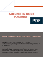 Failures in Brick Masonry - PPT