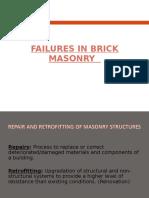 Failures in Brick Masonry - PPT