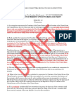 Vice President Rule Working Document