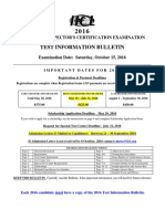 2016 Container Information Bulletin