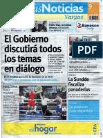 Últimas Noticias Vargas domingo 9 de julio de  2016